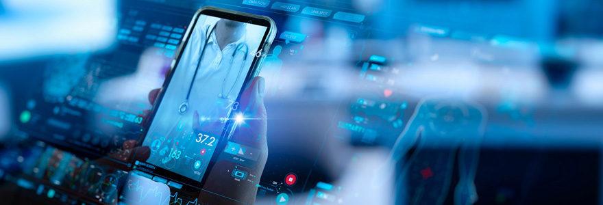 Mobile santé en ligne